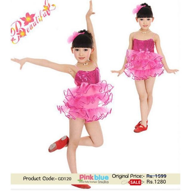 hot pink baby dress