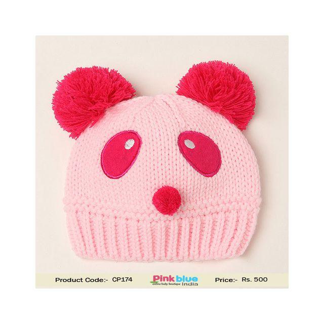 infant panda warm hat