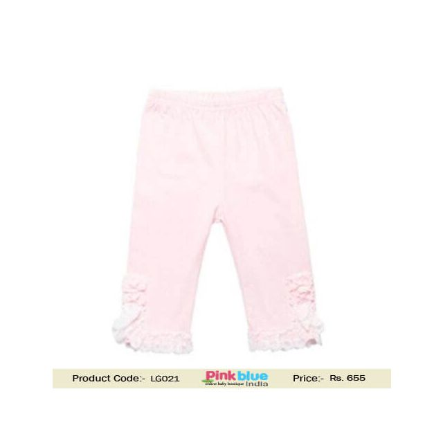 pink baby leggings