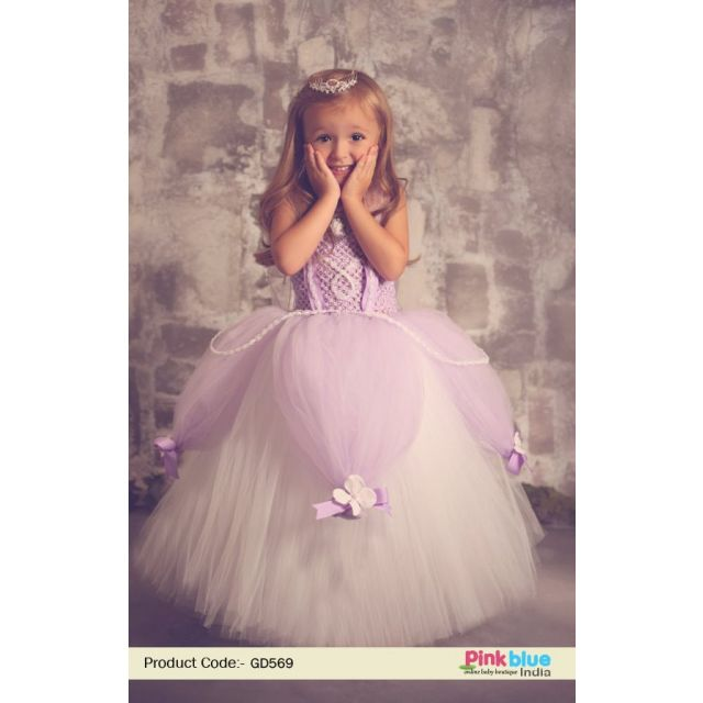 Princess Sofia Dress – Toddler Girl Sofia the First Birthday Costume – Baby Tutu outfit Online