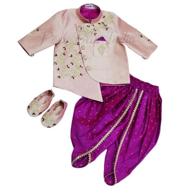 Boys dhoti sherwani, Kids Ethnic Wear 0-18 months, Kids Sherwani