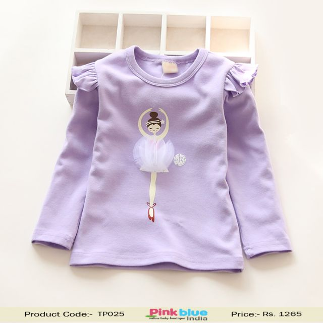 baby girl party top