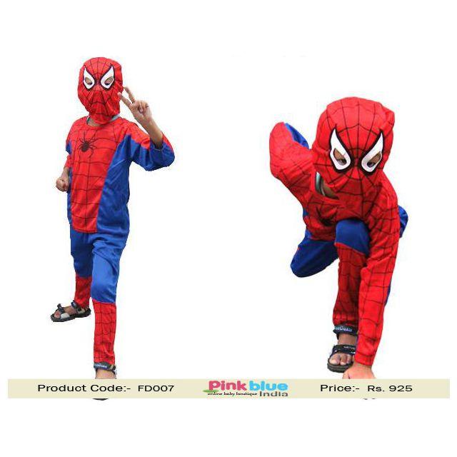 kids spiderman fancy dress