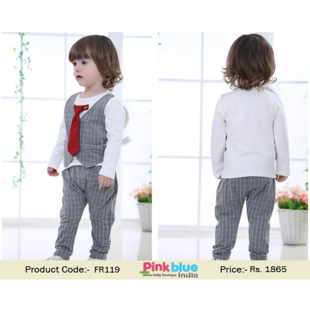 2 piece boys outfit