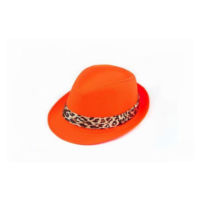 orange baby summer hat