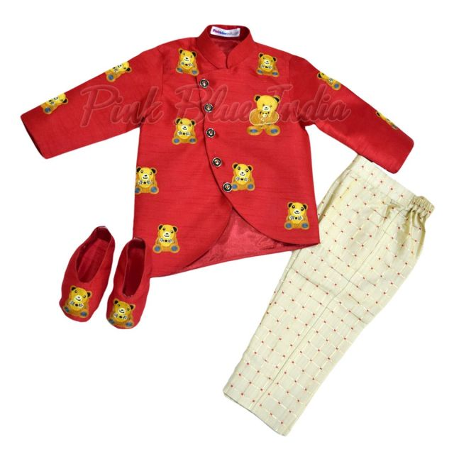 Teddy Bear Boy Birthday Party Theme Outfit Online India