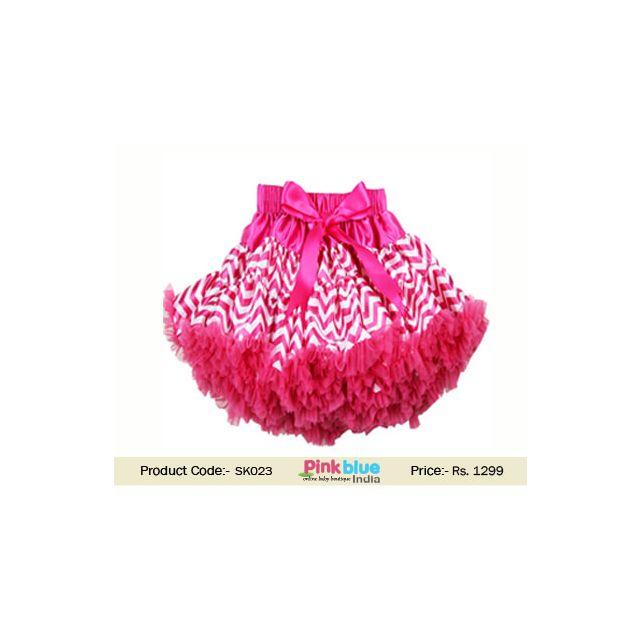 pink baby tutu skirt