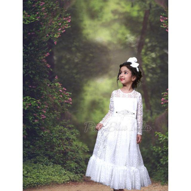 Baby Girl Baptism Dress Online, Toddler White baptism christening Gown Dress