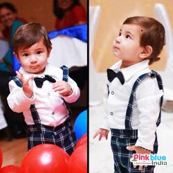 Baby Boy Bowtie Gentleman Stripe Romper review