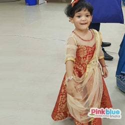 Baby Girl Indo Western Gown for wedding