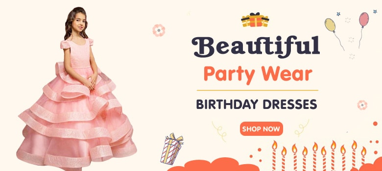 Best Kids Birthday Dresses, Party Wear Gown
