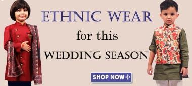 kids ethnic wear boy dress