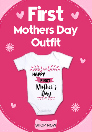 First Mothers Day Outfit, Mothers Day Onesie