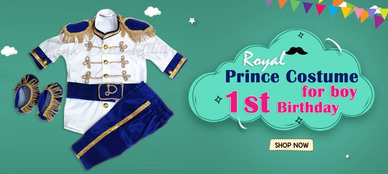 Royal Baby Boy Prince Costume - First Birthday Outfit