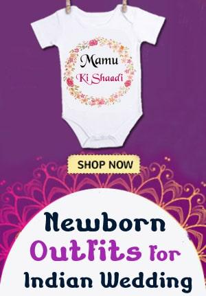 Shaadi Baby Romper - Custom Wedding Onesie Online