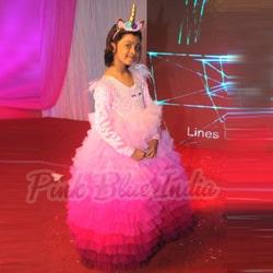 unicorn theme Birthday Party Dress