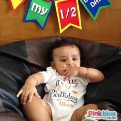 first birthday baby romper