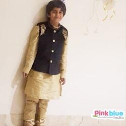 Kids Ethnic Kurta Pajama with Jacket