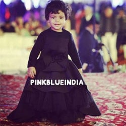 Black Birthday Party Gown for Girl
