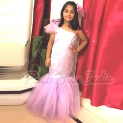 Kids Mermaid Birthday Party Gown review