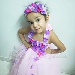 Flower Girl Birthday Tutu Outfit