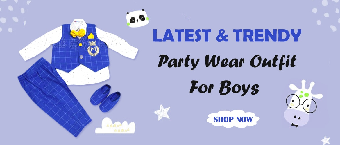 Designer boys party Wear Birthday Outfit
