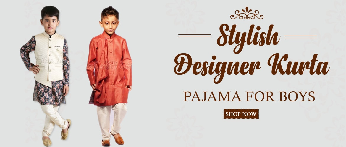 Designer Ethnic Wear Kurta Pajama For boys