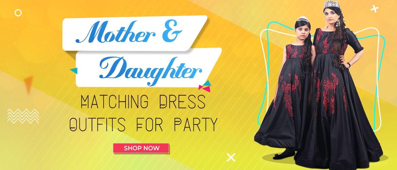 Mother Daughter Dresses For Indian Weddings Online