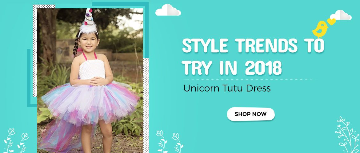 baby girl unicorn tutu dress