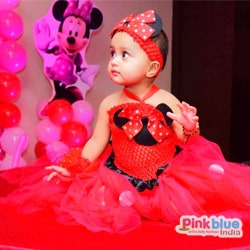 Minnie Mouse First Birthday Tutu Outfit Dress