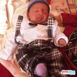 Newborn Baby Boy Bow tie Formal Romper Suit