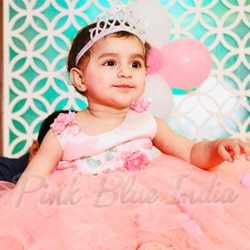1st Birthday dress, Flower Girl Dress Party Wear