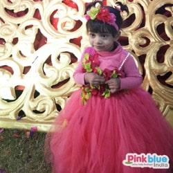 Toddler Pink Birthday Party Tutu Dress