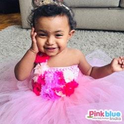 1st Birthday Pink Tutu Dress
