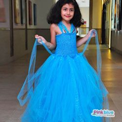 Princess Cinderella Birthday Tutu Dress