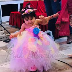 Rainbow 1st Birthday Party Tutu Dress