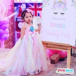 Unicorn Tutu Dress Flower Girl Princess