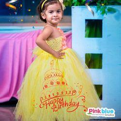 Yellow Birthday party Tutu Dress