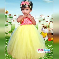 Yellow Tutu Wedding Dress review pinkblueindia